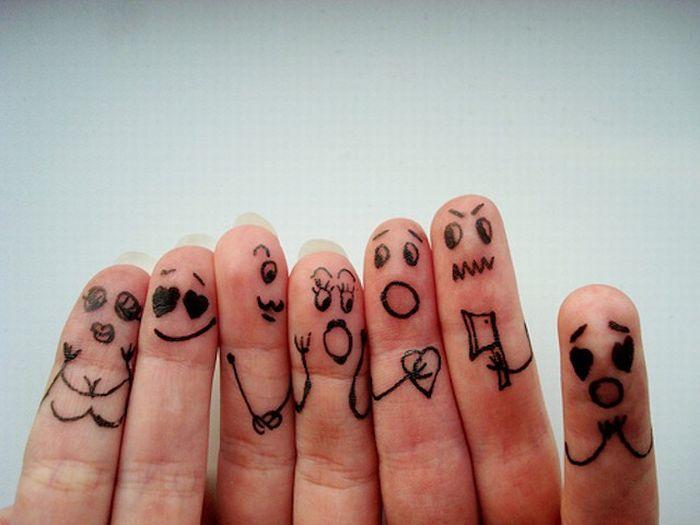 Из жизни пальцев (70 фото)