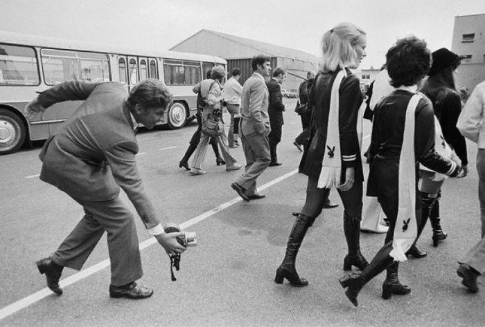 Мода на мини юбки в 1960-70 годах