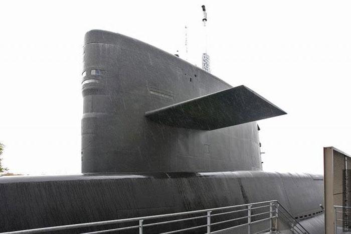 Внутри атомной подводной лодки