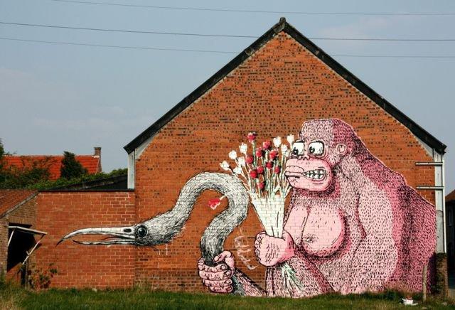 Граффити (41 фото)