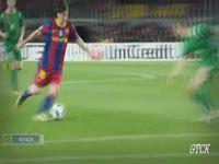 Техника футболиста Месси