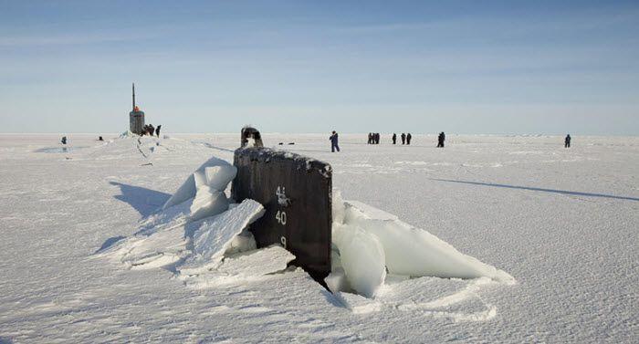 Под толщей льда (27 фото)