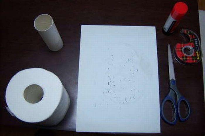 Розыгрыш с туалетной бумагой