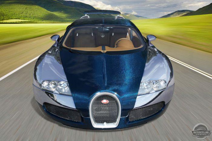SD Ultraviolet Bugatti Veyron (18 фото)