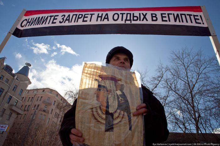 В центре Москвы прошел митинг дайверов