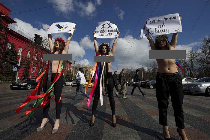 Женское движение FEMEN