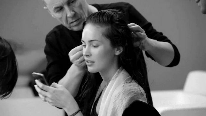 Меган Фокс (Megan Fox) фотосет для Армани (30 фото)