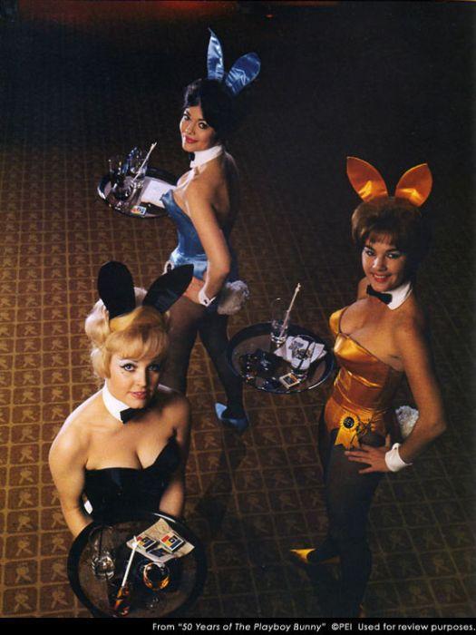 Фото к 50-летнему юбилею костюма «зайчик Playboy»