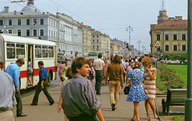 Ленинград в 1972