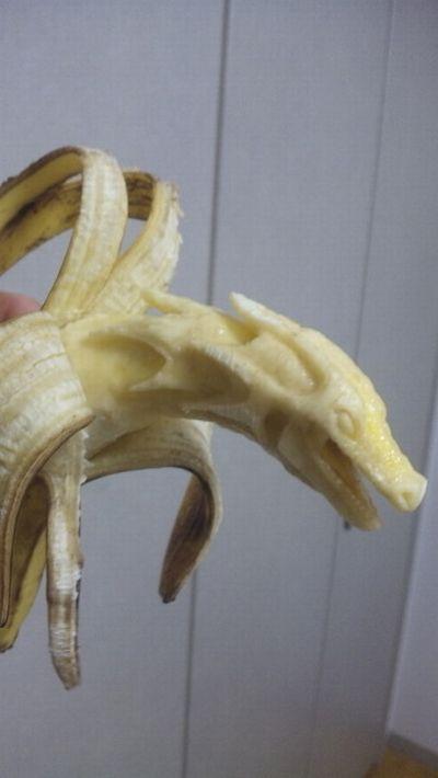 Резьба по бананам