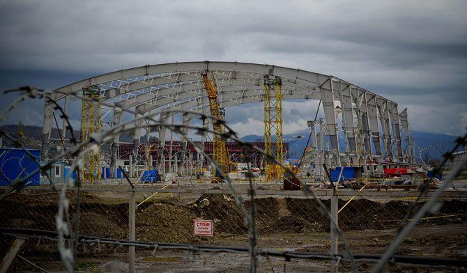 Строительство олимпийских объектов в