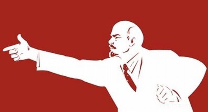 Фотожаба на дедушку Ленина