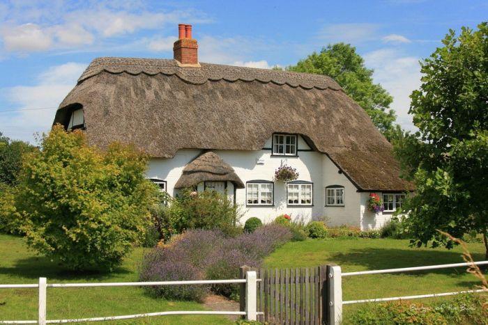 Удивительные дома в провинции Англии