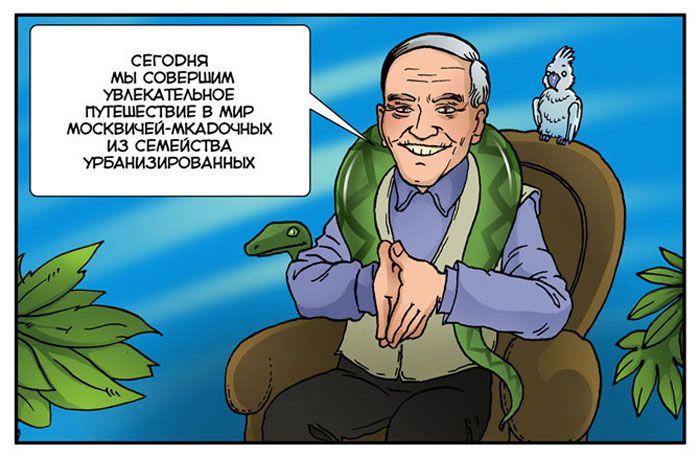 Москвич обыкновенный