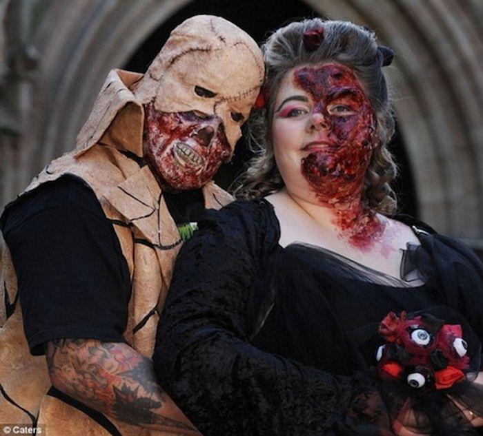 Свадьбы со странностями (30 фото)
