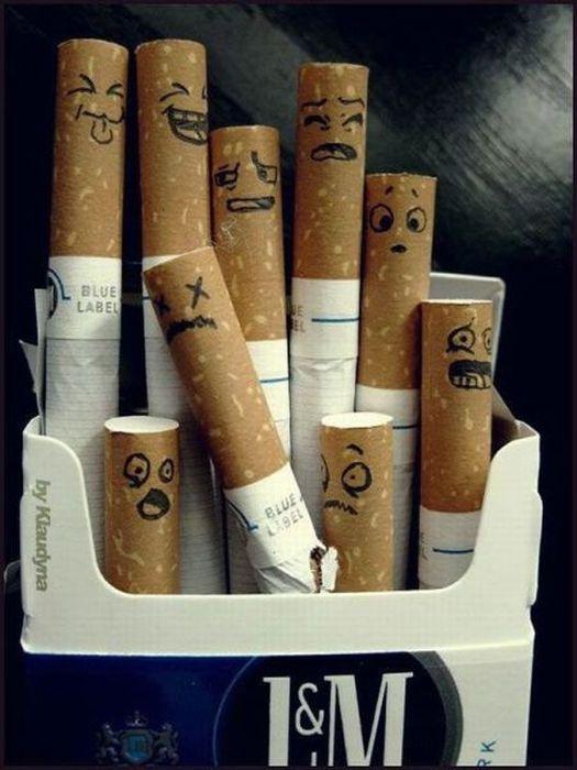 Картинки сигареты смешные, анимационные открытки