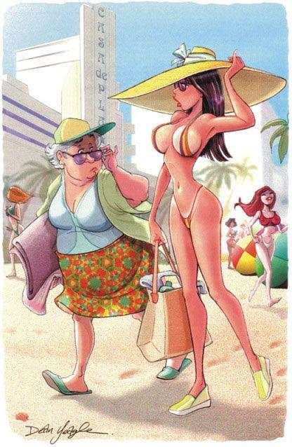 Рисунки из Playboy (52 фото)