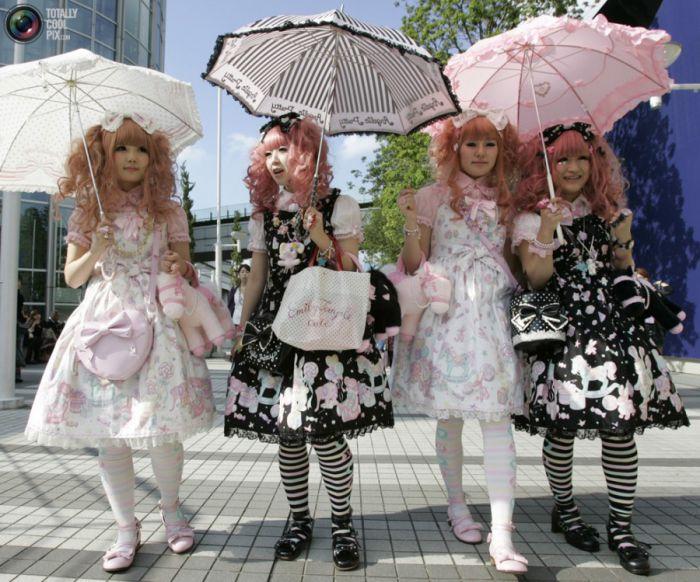 Японская мода в стиле «Лолита»