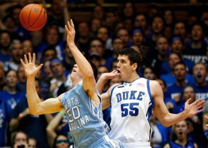 Забавные моменты в баскетболе (20 фото)