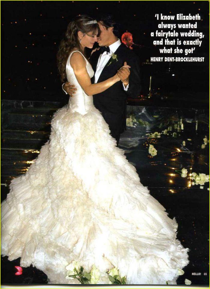 Элизабет Херли официально подала на развод