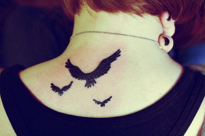 Татуировка в виде птицы значение