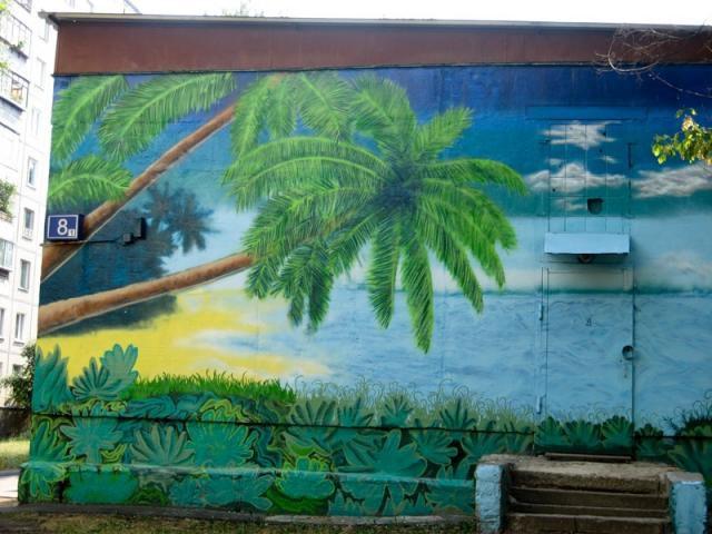 Тушинские граффити