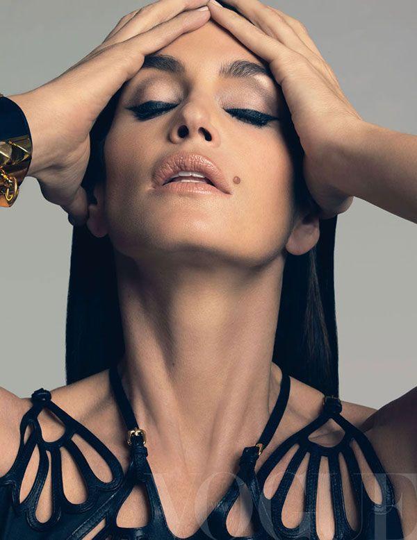 Синди Кроуфорд в журнале Vogue