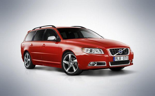 Новая Volvo V70 R-Design