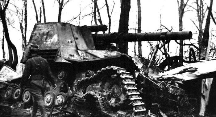 Германские томные танки остались на