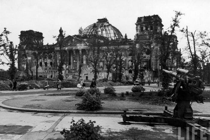 Берлин в окончании Великой Отечественной войны