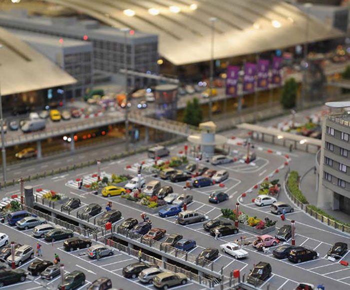 Самая крупная в мире модель аэропорта
