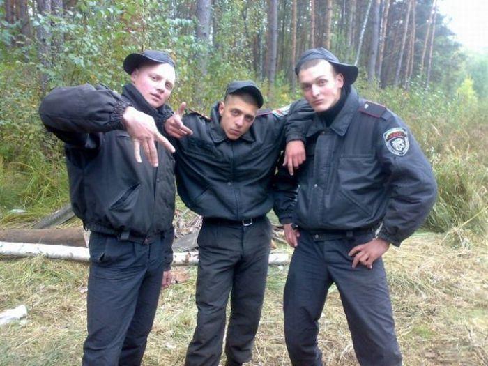 Служба в украинской милиции, личные фото (30 фото)