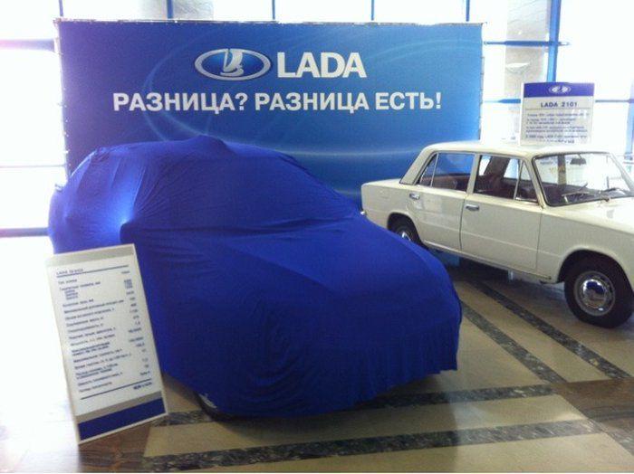 Новая Lada Granta (29 фото + видео)