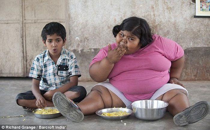 Cамый толстый ребенок в мире (2 фото)