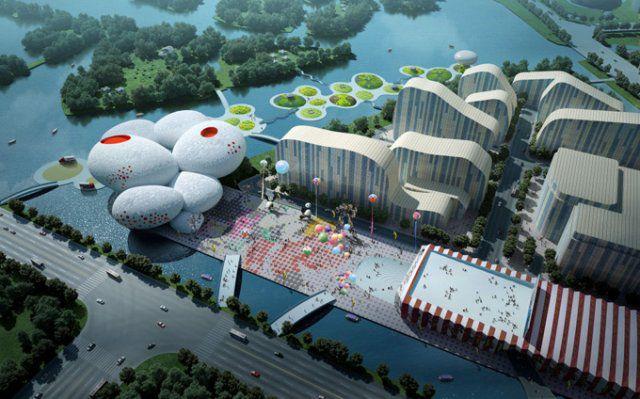 Музей комиксов и мультипликации в Китае