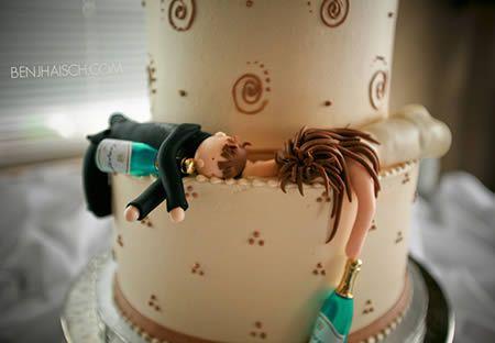 Свадебные торты (15 Фото)