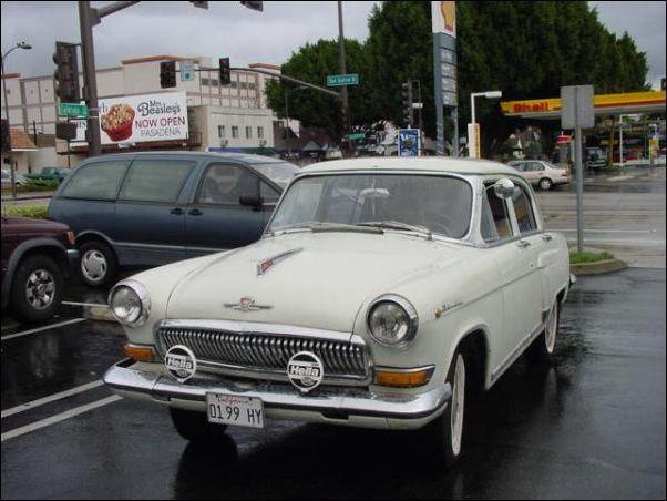 Советские автомобили на Кубе