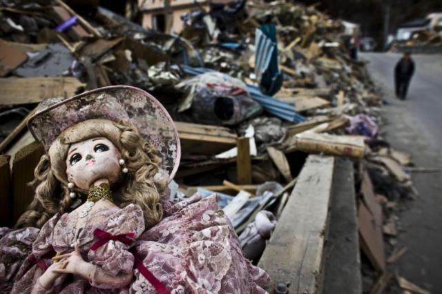 Исчезнувший город в Японии