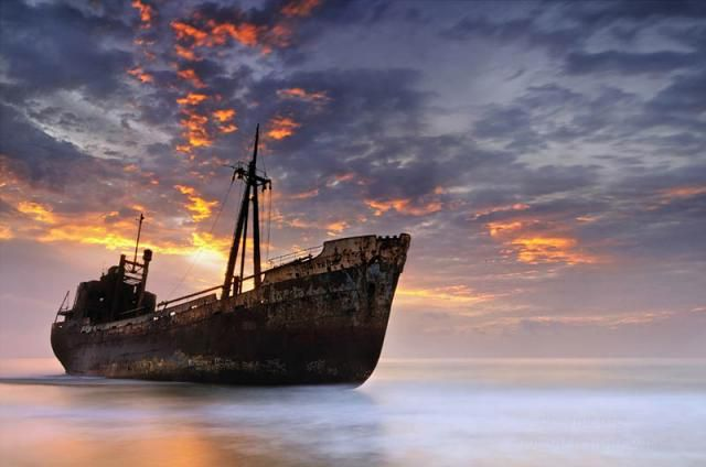 25 брошенных кораблей