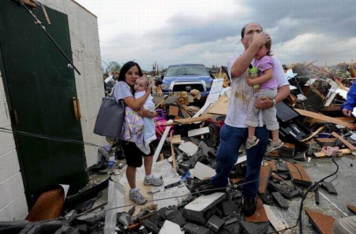Торнадо в США (33 фото)
