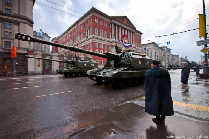 Репетиция парада победы в Москве (17 фото)