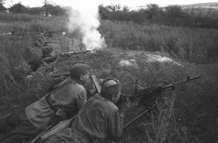Лучшие советские пулеметчики