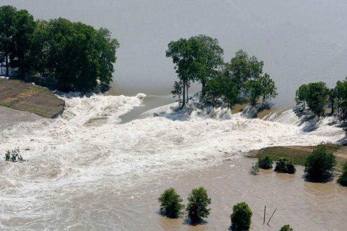 Наводнение на юге США
