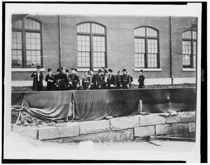 Ретро фотографии русских моряков 1893 года