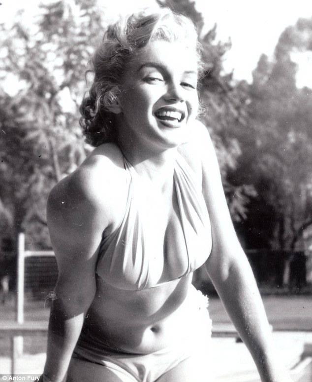 Неизвестные снимки Мерлин Монро (7 фото)