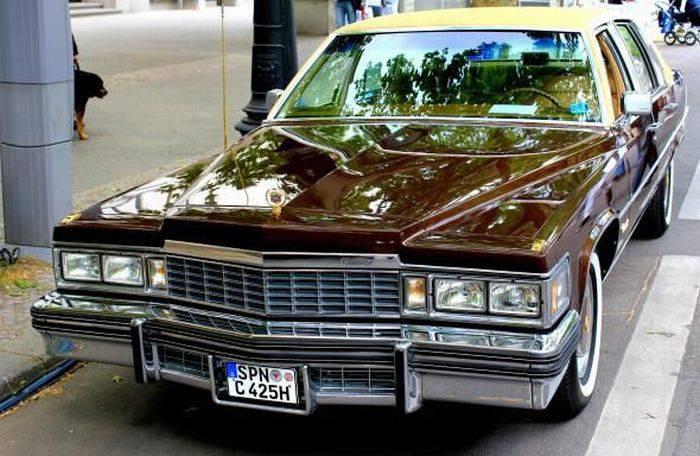Выставка старых автомобилей в Берлине