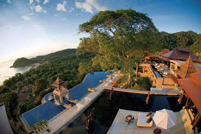 Пятизвездочный отель на острове в Таиланде