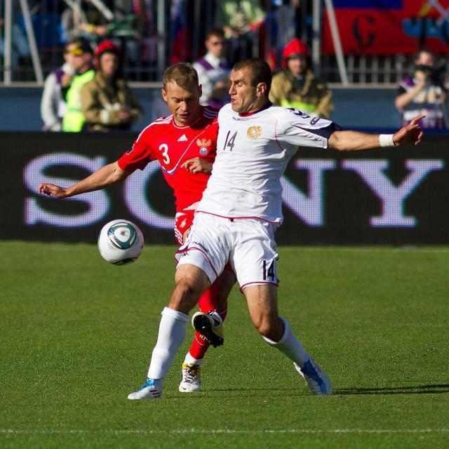 Россия — Армения 3:1, 2012