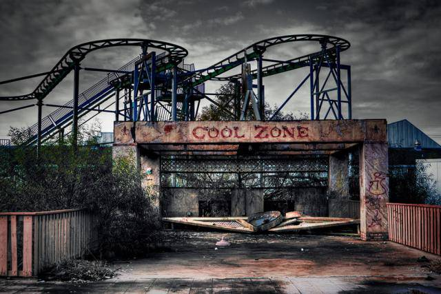 Заброшенные парки атракционов в Америке