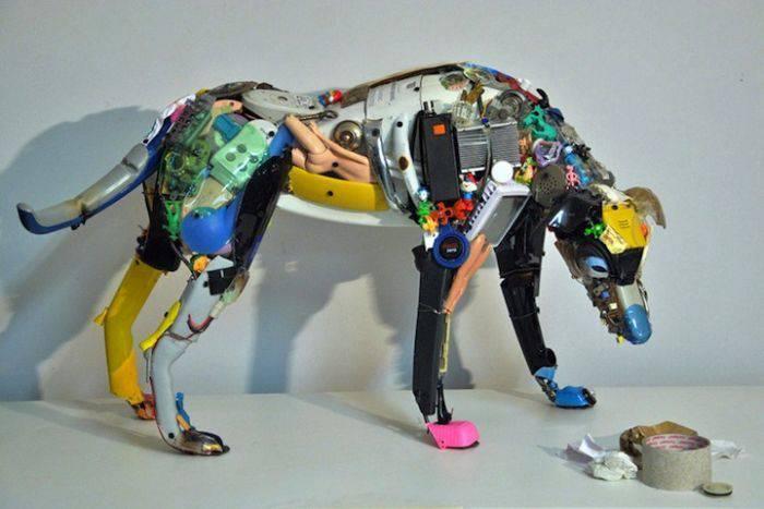 Поделки сделанные из отходов